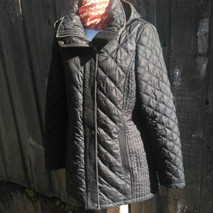 Andrew Marc Quilted Parka Marc New York, Medium